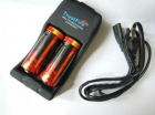 Комплект ЗУ TrustFire TR-006 + 2 аккумулятора 26650