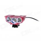 Фара велосипедная SolarStorm X3 NEW  3x диода XML-U2